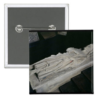 Tumba de Charles Martel Pin Cuadrada 5 Cm