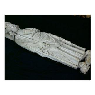 Tumba de Felipe IV Le Bel, 1327 Postal