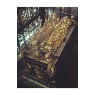 Tumba de Henry VII y de su esposa Lona Envuelta Para Galerías