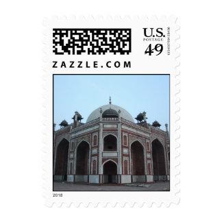 Tumba de Humayun Delhi la India Sello