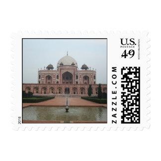Tumba de Humayun Delhi la India Franqueo