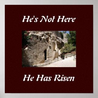 Tumba de Jesús Posters