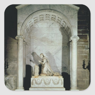 Tumba de la emperatriz Josephine 1825 Calcomania Cuadradas Personalizada