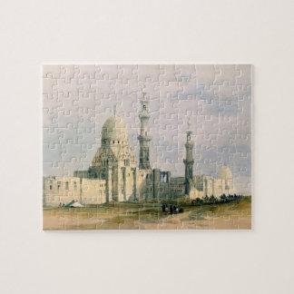 Tumba de la identificación del ` Abu Sa de Qansuh Puzzle Con Fotos