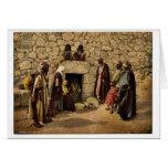 Tumba de Lazarus, Bethany, Tierra Santa, (es decir Tarjetas