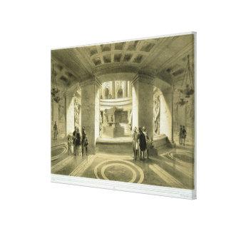 Tumba de Napoleon (1769-1821) en Invalides, de 'P Impresiones En Lienzo Estiradas