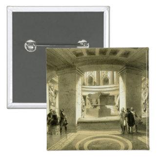 Tumba de Napoleon (1769-1821) en Invalides, de 'P Pin Cuadrada 5 Cm