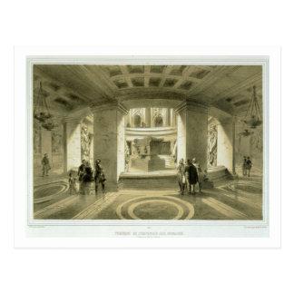 Tumba de Napoleon (1769-1821) en Invalides, de 'P Tarjeta Postal