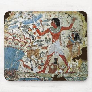Tumba de Nebamun: Fowling Tapetes De Ratón