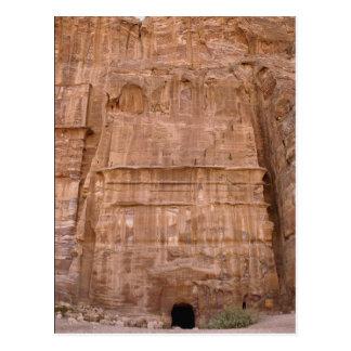 Tumba de seda de la tumba del arco iris, Petra, Tarjeta Postal