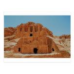 Tumba del Petra de los obeliscos Postal