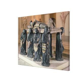 Tumba del pote de Felipe (1428-94) de la abadía de Lona Envuelta Para Galerias