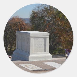 Tumba del soldado desconocido Arlington Etiqueta Redonda