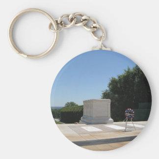Tumba del soldado desconocido llavero personalizado