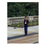 Tumba del soldado desconocido tarjeta postal