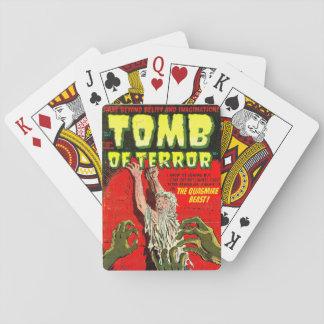 Tumba del terror la bestia del cenagal barajas de cartas