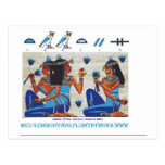 Tumba egipcia de Nakht Postales