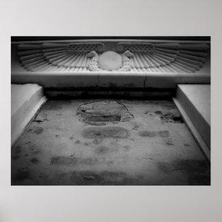 tumba egipcia póster