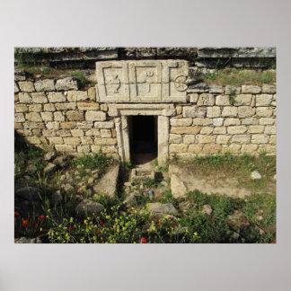 Tumba Hierapolis, POSTER del gladiador de Pamukkal