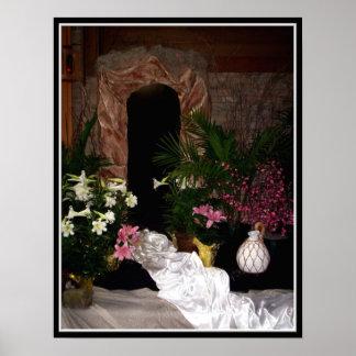 Tumba vacía de Pascua Póster