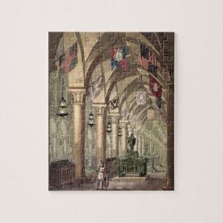 Tumbas de los caballeros Templar c 1820-39 acuat Rompecabeza Con Fotos