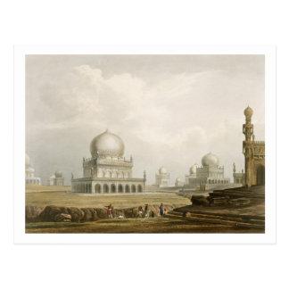 Tumbas de los reyes de Golconda en 1813 de Volum Postales