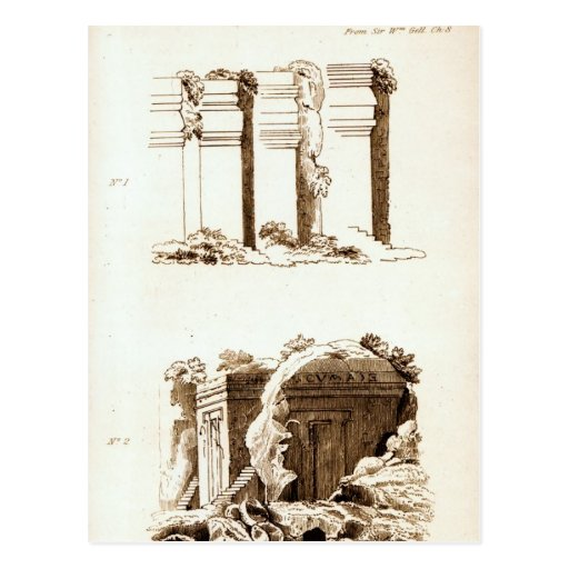 Tumbas en el d'Asso de Castel Tarjetas Postales