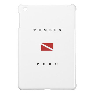Tumbes Peru Scuba Dive Flag iPad Mini Cases
