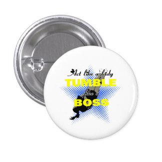 Tumble lika a Boss Cheerleader Pins