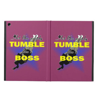 Tumble lika a Boss Cheerleader iPad Air Case