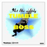 Tumble lika a Boss Cheerleader Wall Decals