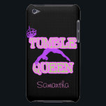 "Tumble Queen iPod Case-Mate Case<br><div class=""desc"">add text or upload your own image</div>"