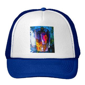 Tumbler, Multi Coloured Glass Trucker Hat