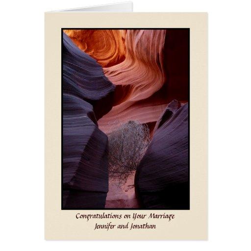 Tumbleweed del barranco, tarjeta de la bendición
