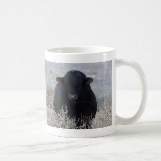 Tumbleweeds negros fuertes grandes de Bull - Toro Taza De Café