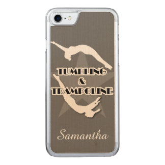 Tumbling and Trampoline Carved iPhone 7 Case