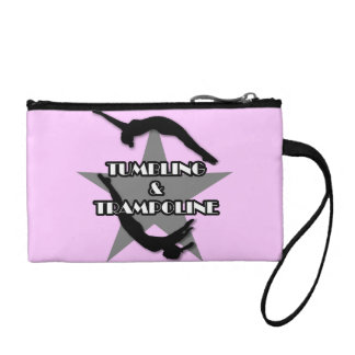 Tumbling and Trampoline Change Purse