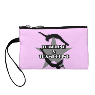 Tumbling and Trampoline Coin Wallet