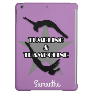Tumbling and Trampoline ipad Air Personalized Case Cover For iPad Air