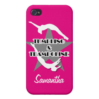 Tumbling and Trampoline iPhone 4 Cover
