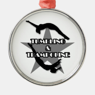 Tumbling and Trampoline ornament