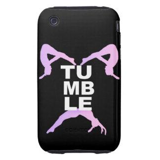 Tumbling girls iPhone 3 tough case