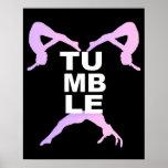 Tumbling Girls Poster