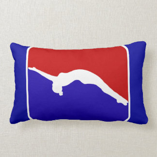 Tumbling gymanst American Mojo lumbar pillow