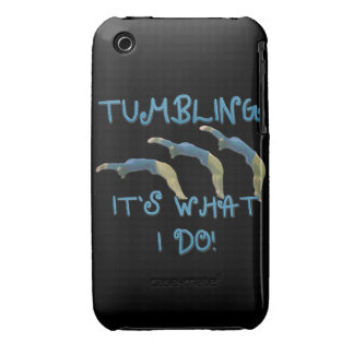 Tumbling gymnast iPhone 3 Case-Mate case