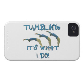 Tumbling gymnast iPhone 4 Case-Mate cases