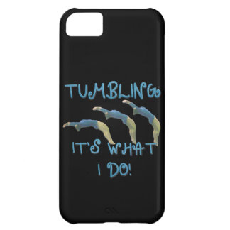 Tumbling gymnast iPhone 5C cover