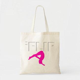 Tumbling gymnast tote bag