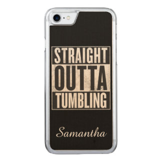 Tumbling gymnastics carved iPhone 8/7 case
