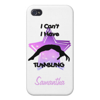 Tumbling Gymnastics Covers For iPhone 4